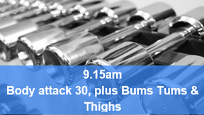 26/04/21 body attack 30, plus Bums Tums Thighs