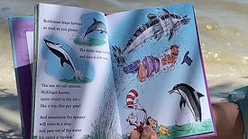 Emily reading A Whale of a tale