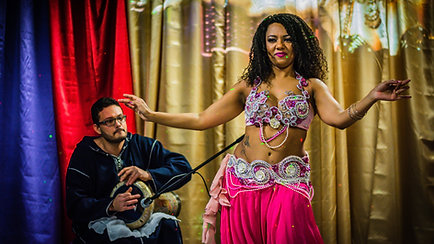 Fundraising belly dance event at the FilmBase Dublin - Showreel