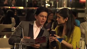 TVC with SRK Chak89