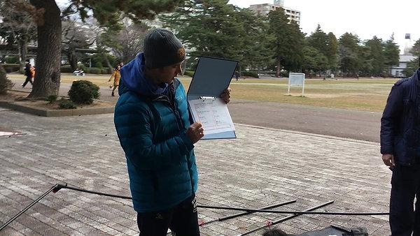 winter トレーニング