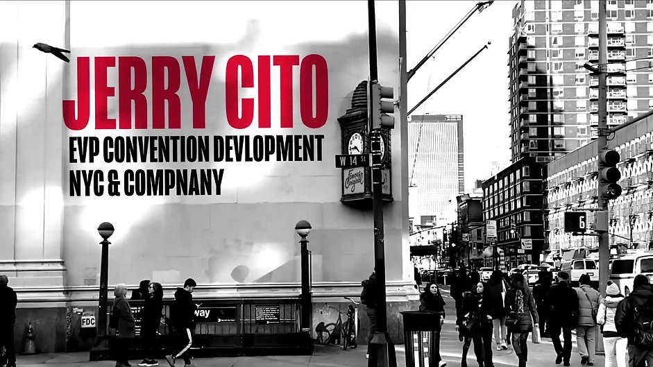 NYC & Company Annual Meeting Speaker Title graphics