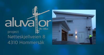 PROJECT Nøtteskjellveien 8 2019 - TRAILER Aluvator VS 49s