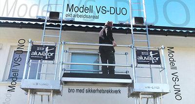 Aluvator Modell VS-UNO og VS-DUO 2020
