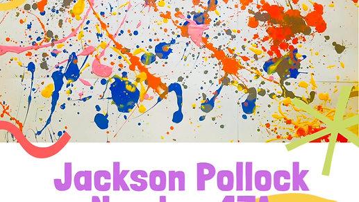 Jackson Pollock no.17a