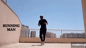 2. RUNNING MAN HIP HOP