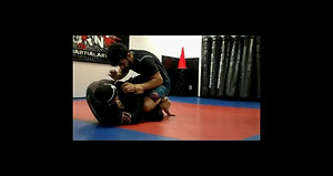 Training my purple belt Vincent Morro