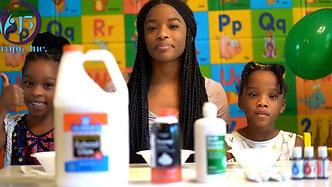 """Slime Motor Skills"" Learning How to Make Slime With J5 Kids"
