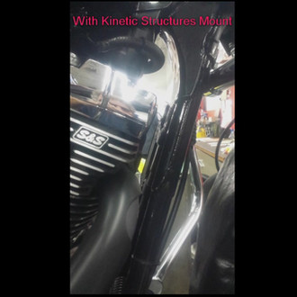 Harley Engine Mount Comparison OEM vs Kinetic Structures