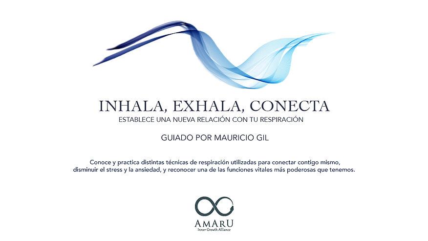 Inhala, Exhala, Conecta