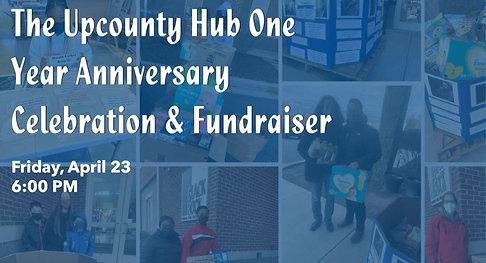 The Upcounty Hub One Year Anniversary Celebration & Fundraiser