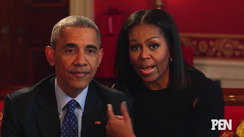Obamas Answer Kids' Adorable Questions _ PEN _ Entertainment Weekly