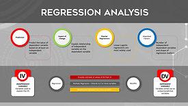 MACHINE LEARNING - REGRESSION ANALYSIS