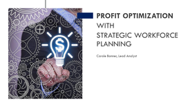 MAXIMIZE PROFIT OPTIMIZE RESOURCES