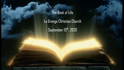 Sept. 13th - The Book of Life