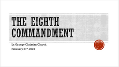 The 8th Commandment