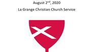 La Grange Christian Church August 2nd, 2020