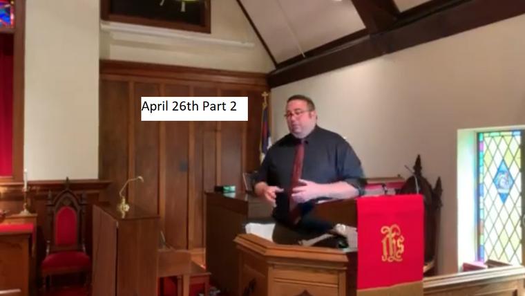 April 2020 Sermons