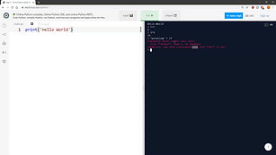 L1-2 Using Python in the Browser
