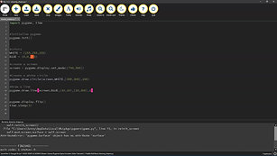 1. Drawing Shapes in Pygame