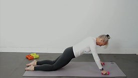 PILATES MAT WITH WEIGHTS