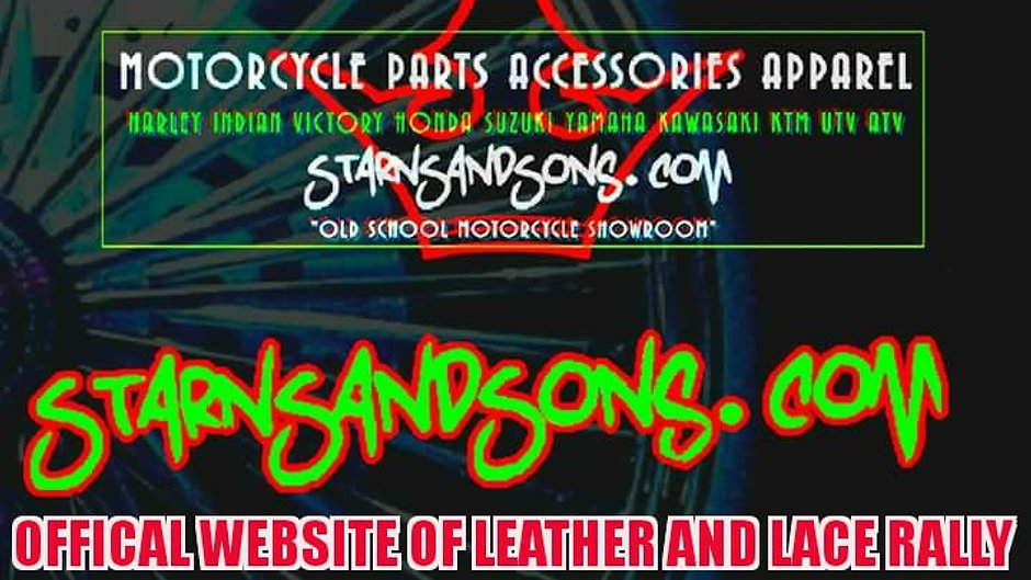 STARNSANDSONS.COM MOTORCYCLE PARTS & ACCESSORIES APPAREL