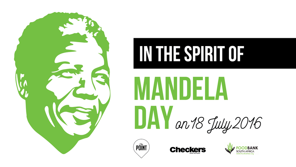 Mandela Day - Food Drive 2016