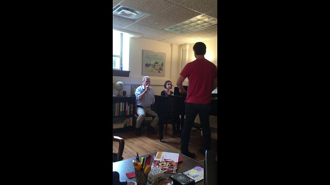 In the Studio: with Jonathan Bryan, baritone