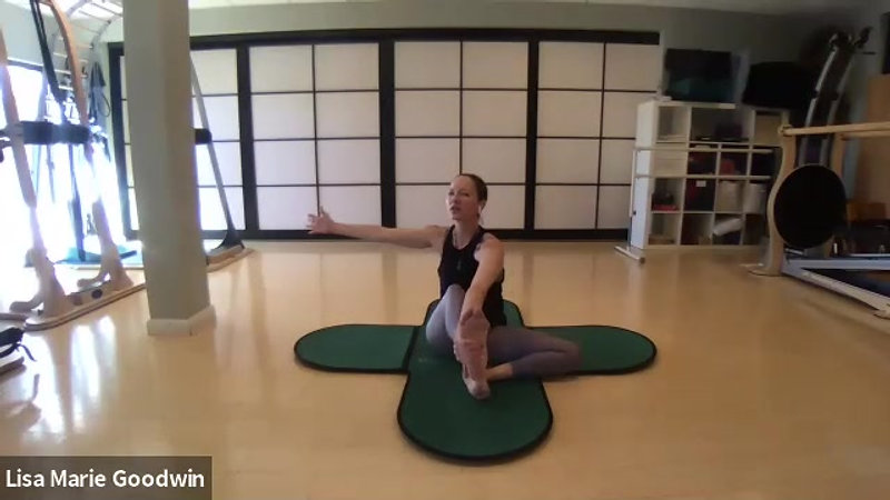 GYROKINESIS® Dance Conditioning with Lisa Marie Goodwin & Anthony Abeyta (1/14/2021)