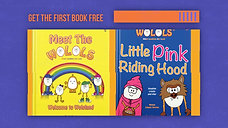 Wolols launch second book Little Pink Riding Hood. June 2020