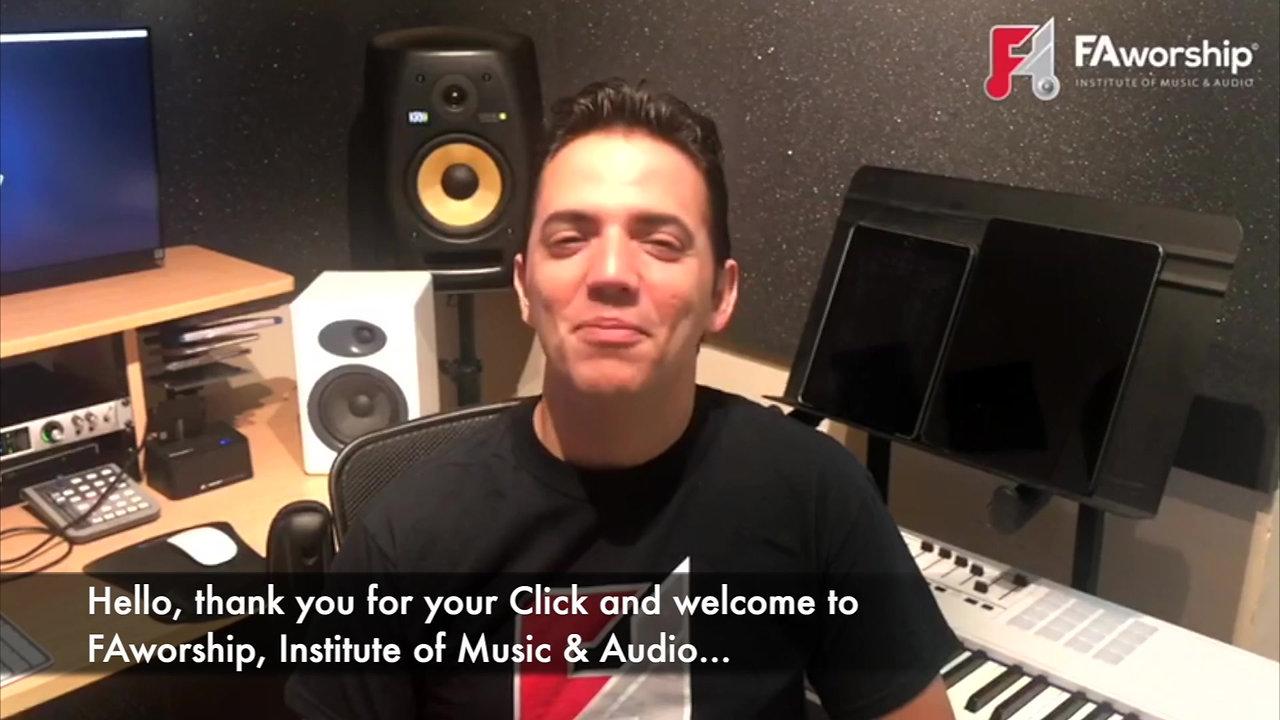 Javier Concepcion, Emilio Estefan's Producer recommends FAworship