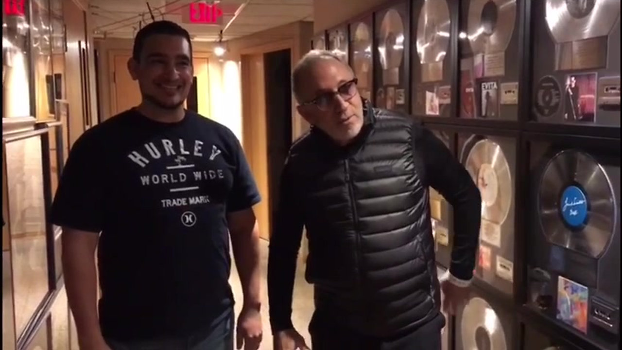 Emilio Estefan recommends FA Worship, Music School