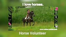 Horse Volunteer Rubina's World