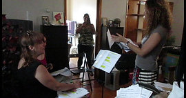First vocal rehearal