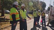 4 Glen visits a line crew-Decatur