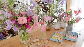 A summer wedding bouquet