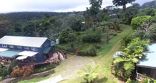 Drone footage of the Tiapapata Art Centre