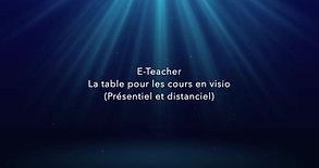 E-table présentation