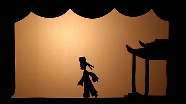 """Shadow Puppetry Origin Tale"""