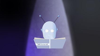 Wired man