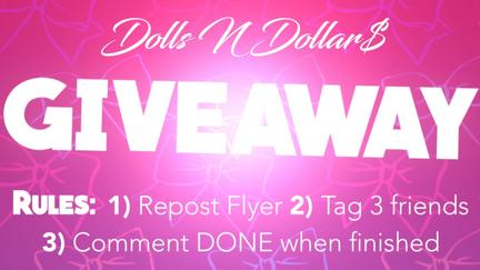 Dolls & Dollars Giveaway