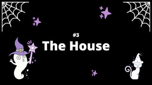 3 The House - Spooky House Shadow Box