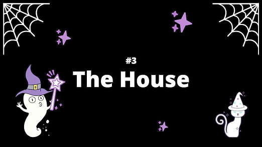 3 The House - Spooky House Shadow Box