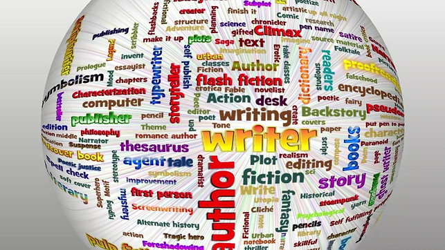 An Author's World by Anita Dickason