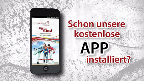 Smartphone-App Werbeclip