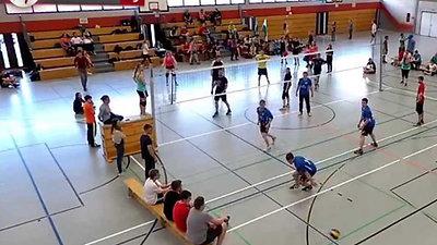Finale Volleyball-Turnier 2015 FeG Wetzlar gegen FeG Weidenhausen / Jugendwerk
