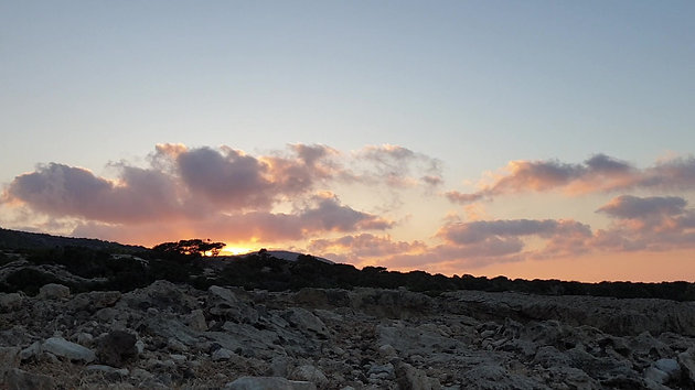Sunset time-lapse in Akamas