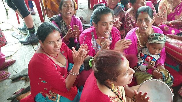 Nepalese pre-wedding festivities