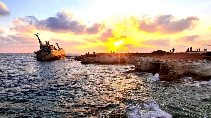 Edro III shipwreck in Pegeia