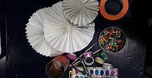Accordion Pinwheel Art